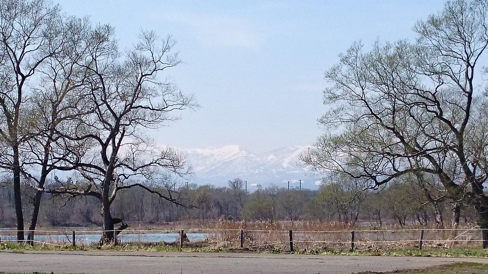 夏油高原スキー場も見えますね